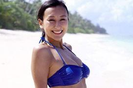 浅田舞(26)の青いビキニ姿がエロ過ぎて精子枯れそうwww画像×20