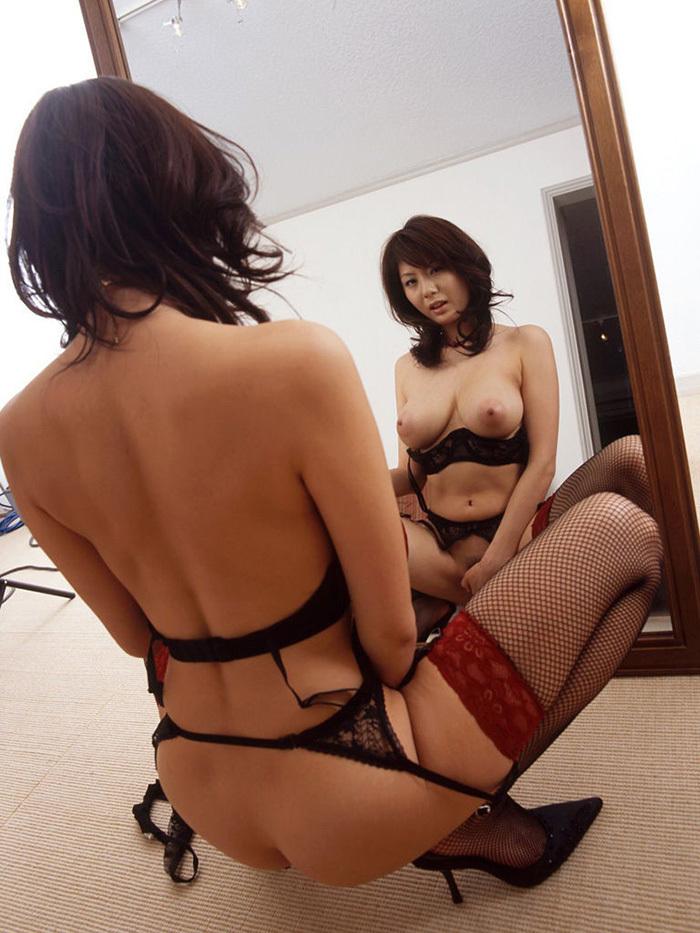 ヌード 鏡 画像 20