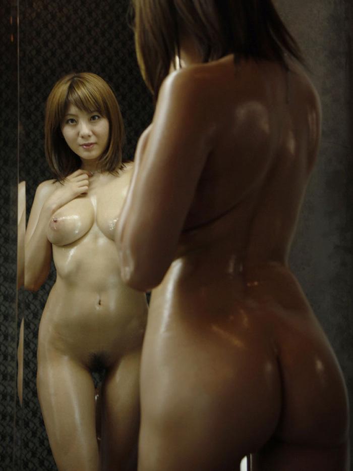 ヌード 鏡 画像 7