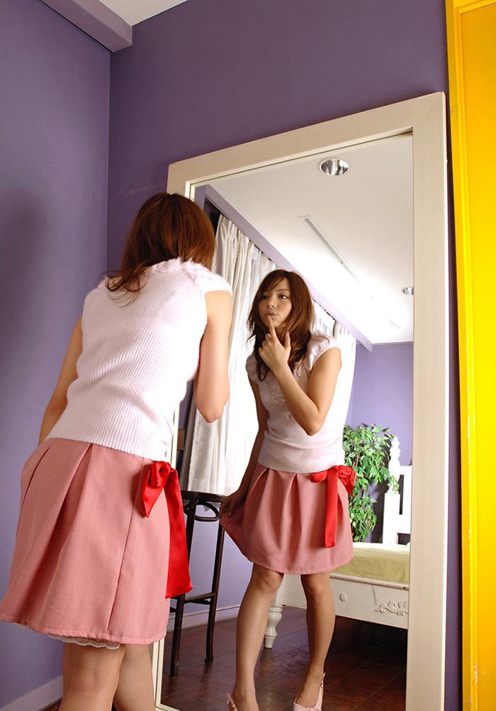 鏡 ヌード 画像 25