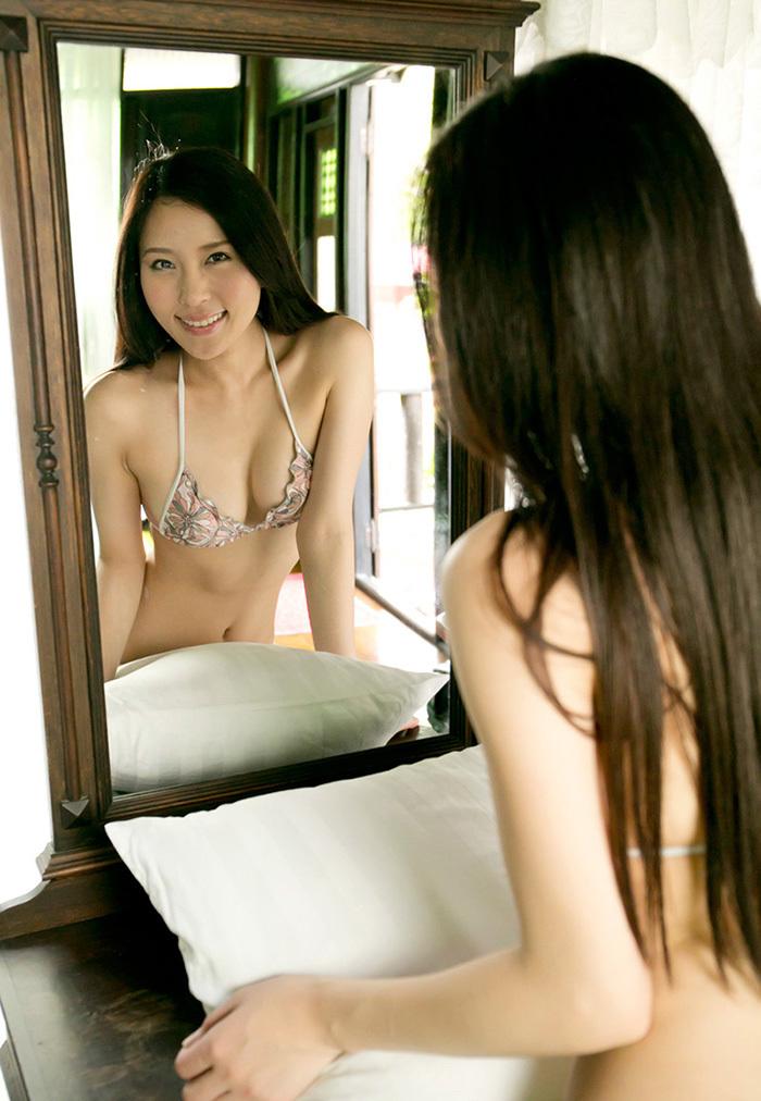 鏡 ヌード 画像 28