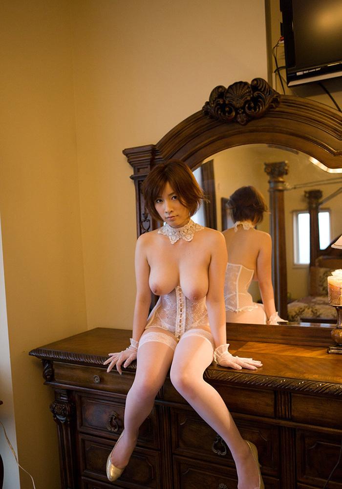 鏡 ヌード 画像 34