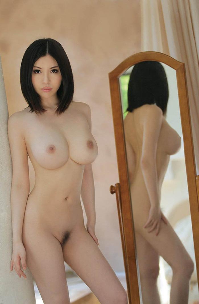 鏡 ヌード 画像 81