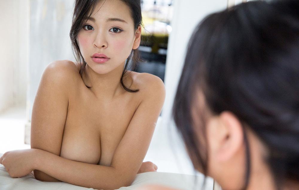 鏡 ヌード 画像 96