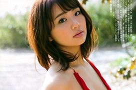 平嶋夏海 ぽちゃ顔が可愛い目がくりくりな大胆なノーブラセクシーのおっぱい画像