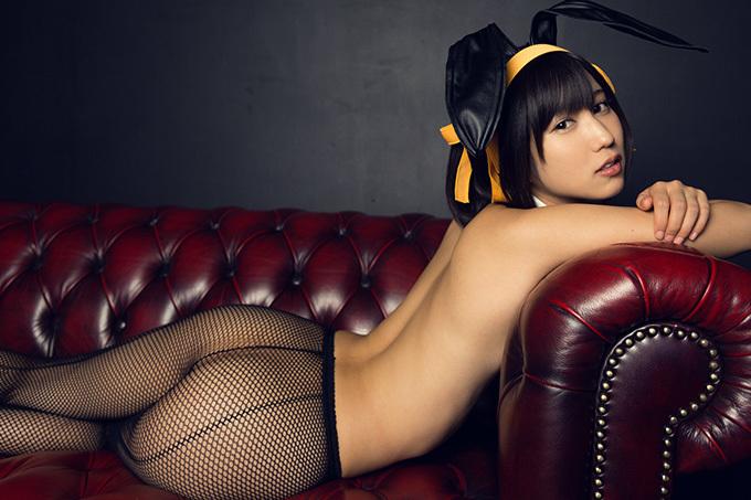 湊莉久 × バニーガール