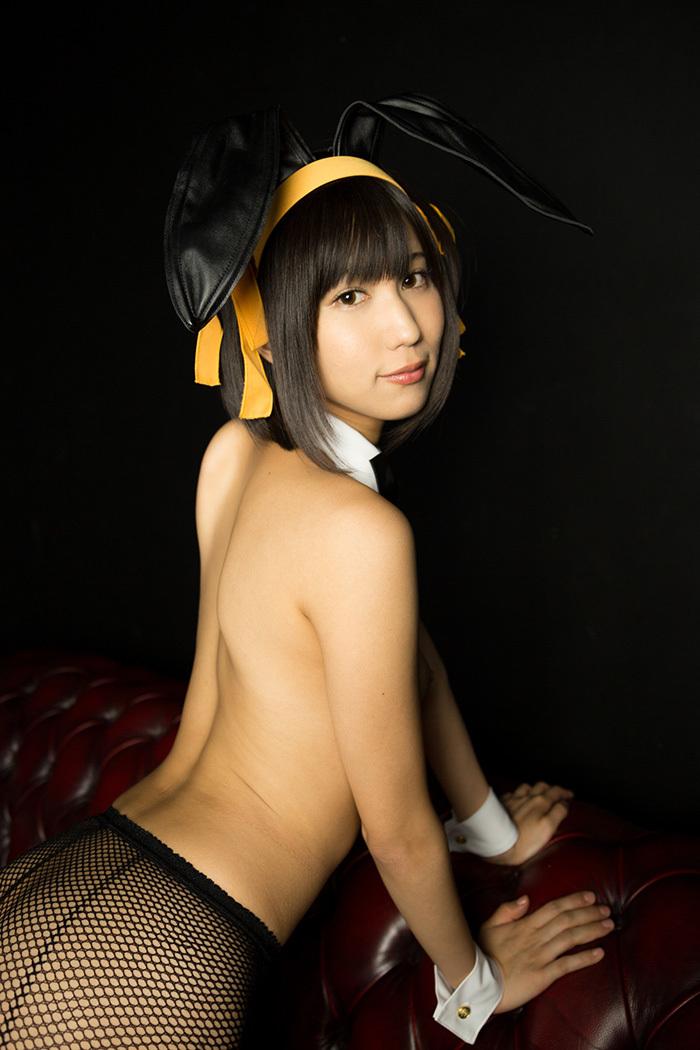 湊莉久 バニーガール 画像 25