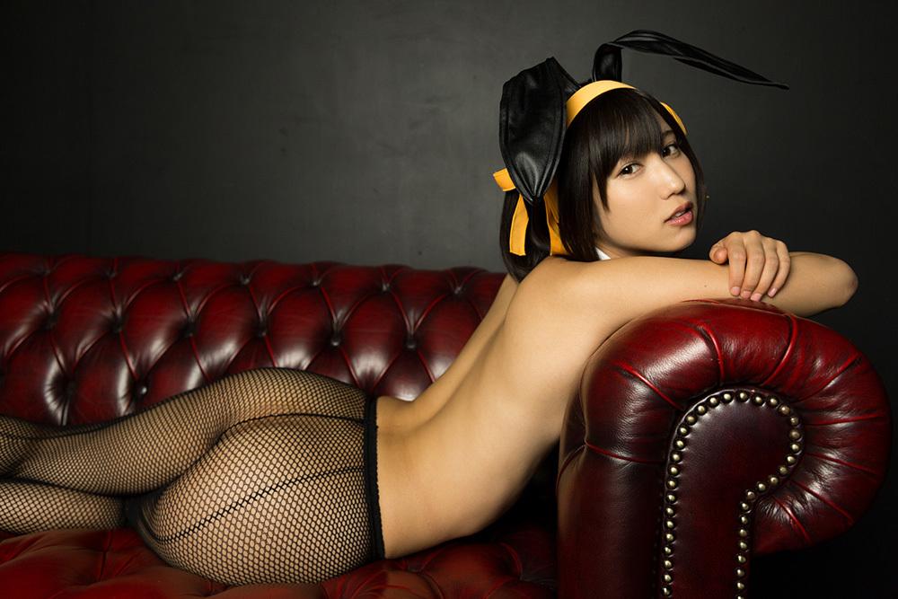 湊莉久 バニーガール 画像 31