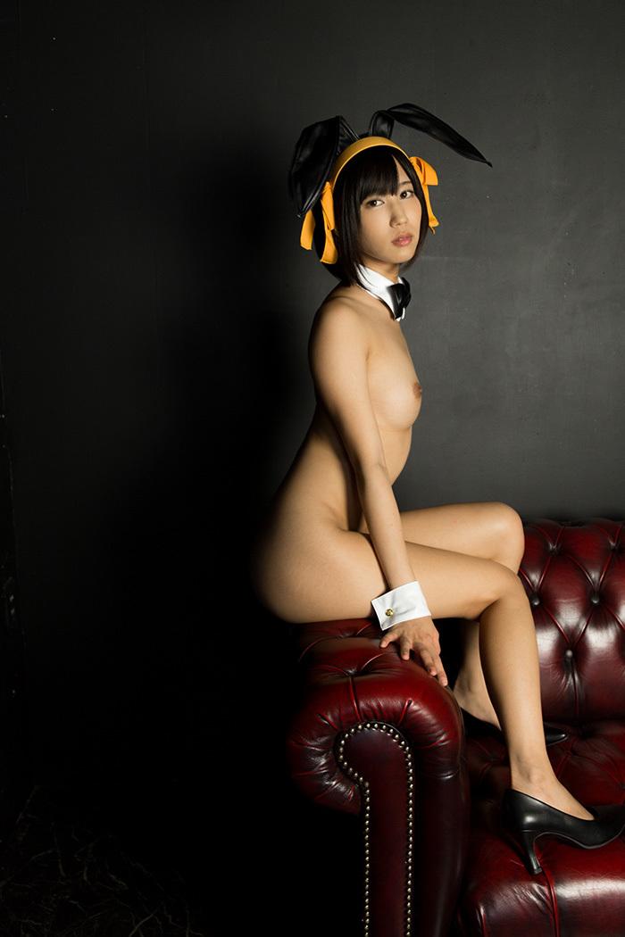 湊莉久 バニーガール 画像 49
