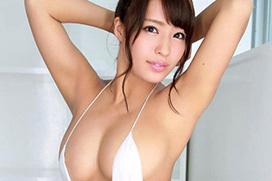 橋本梨菜(23) 日本一黒いグラドルのGカップ爆乳。