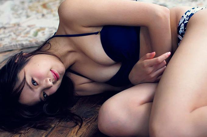 熊江琉唯 2017年度「三愛水着楽園イメージガール」に決定したスーパールーキー!
