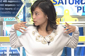 小島瑠璃子、おっぱい体操でピンコ立ちwwwww(※画像あり)