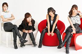 セクシーアイドルグループのKUHN (美泉咲・初美沙希・蓮実クレア・湊莉久)が解散
