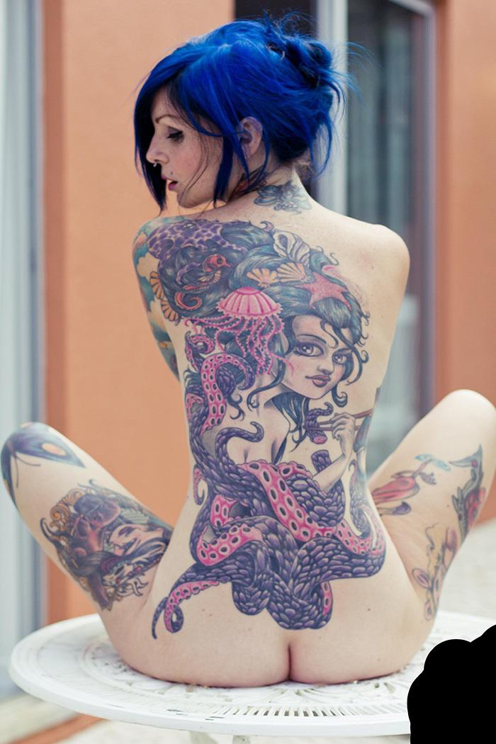 タトゥー ヌード 画像 49
