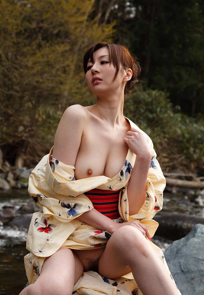 浴衣 エロ画像 77