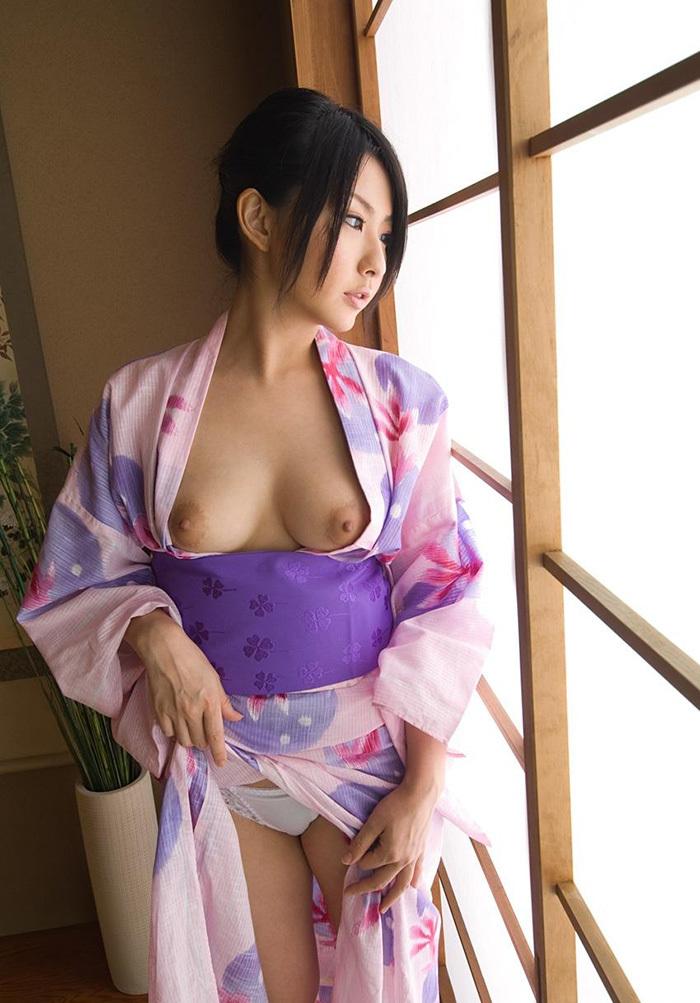 浴衣 エロ画像 78