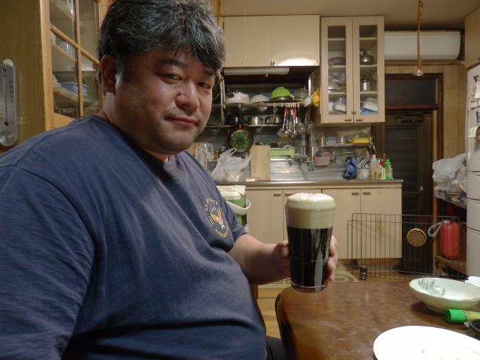 2黒ビール美味しいぞー