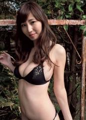 塩地美澄アナ、タオル1枚画像5