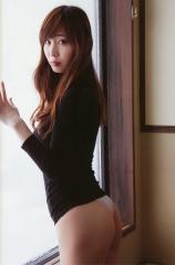 塩地美澄アナタオル一枚入浴画像4