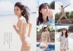 久慈暁子アナ水着画像10