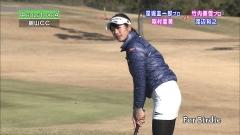 稲村亜美ミニスカゴルフ画像7
