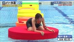 稲村亜美ロンハー水泳2017谷間画像7