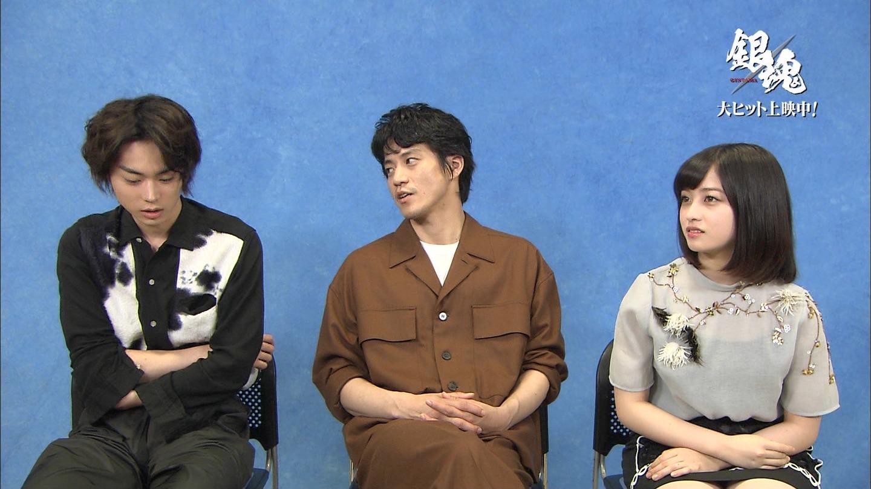 橋本環奈が超ミニスカでインタビューされてパンチラ!!!wwwwwwww