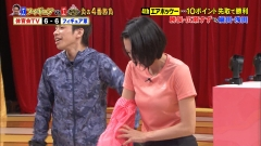 浅田舞巨乳Tシャツブラチラ画像3