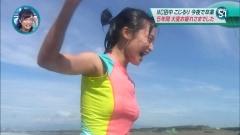 小島瑠璃子濡れ透けウエットスーツ画像3