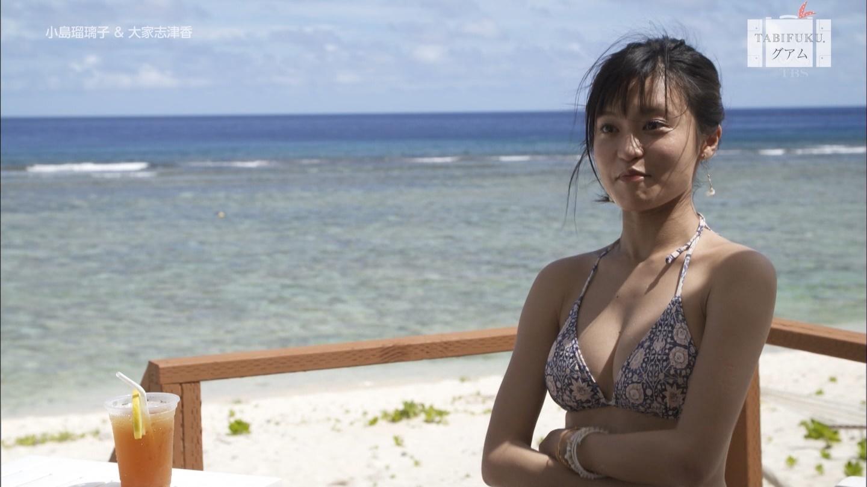 小島瑠璃子が旅番組でビキニ☆☆wwwwwwwwwwwwwwwwww