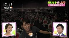 近江友里恵アナ胸チラ画像8