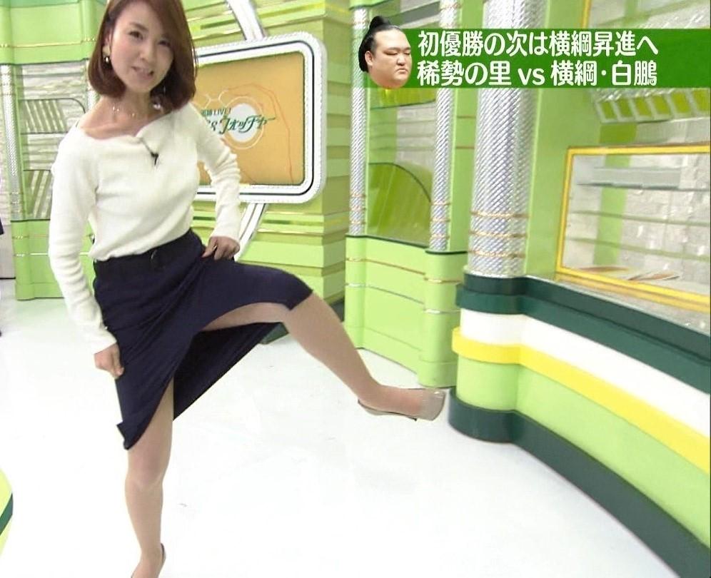 秋元玲奈アナがTVでシコ1