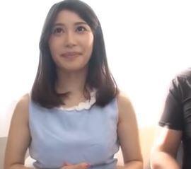 (ヒトヅマムービー)(初撮り奥さま)こんなに良い女なのにダンナ婦の営みがないなんて信じられない☆