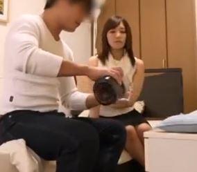 (ヒトヅマムービー)(ヒトヅマキャッチ)NTRイケメン君の罠に墜ちてハメドリされた美美巨乳奥さん