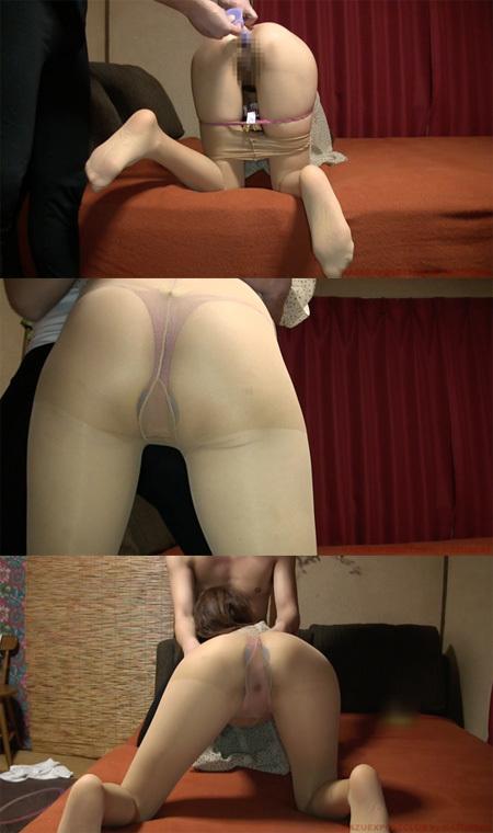 不倫セックスを本気で楽しむ淫乱他人妻のア●ル調教