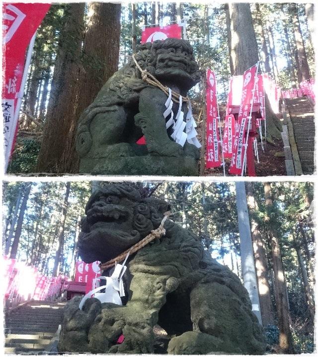 羽黒山神社・狛犬1
