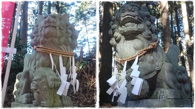 羽黒山神社・狛犬2