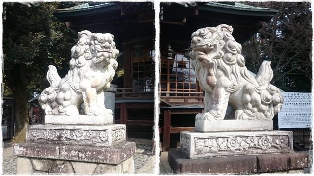 二荒山神社・狛犬