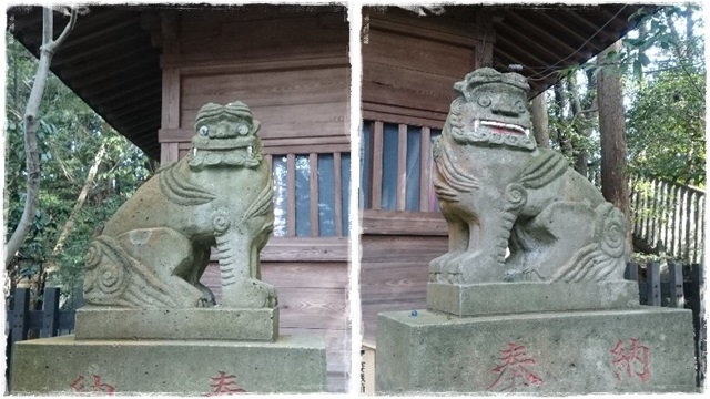 二荒山神社境内社・狛犬