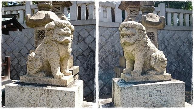 神峰神社・狛犬1