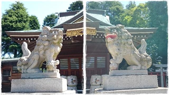 神峰神社・狛犬2