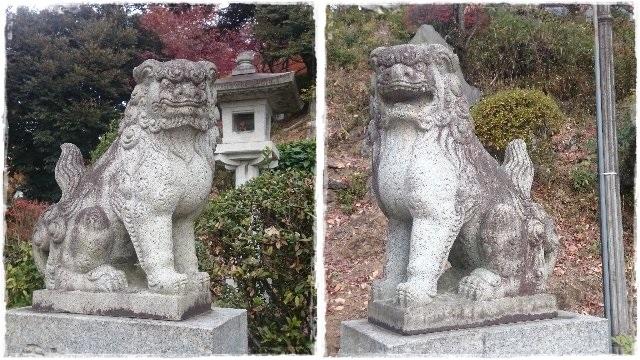 織姫神社・狛犬2