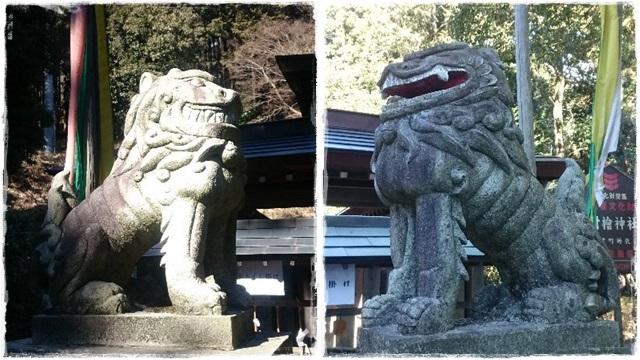 村檜神社狛犬1