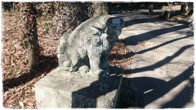 村檜神社狛犬2