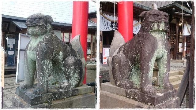 大平神社・狛犬