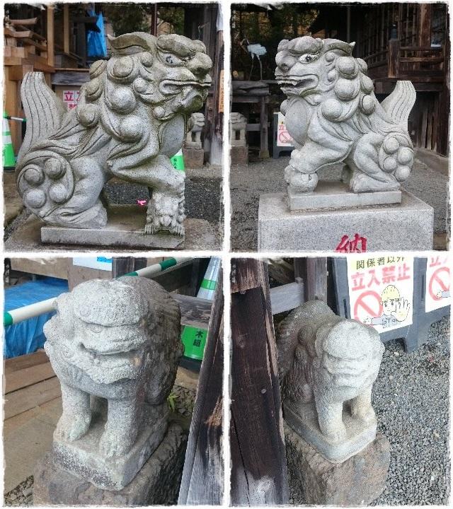 大平神社・星宮神社狛犬