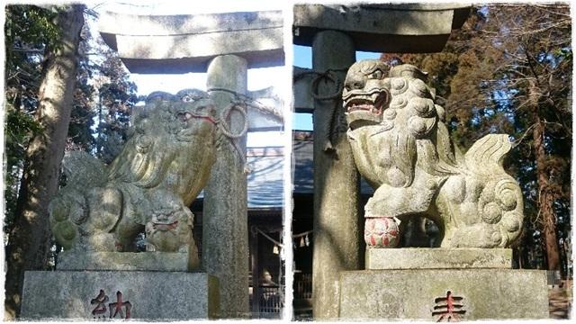 大前神社・狛犬2