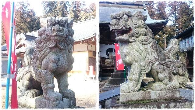 大神神社・狛犬