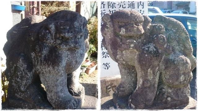 神明宮・狛犬