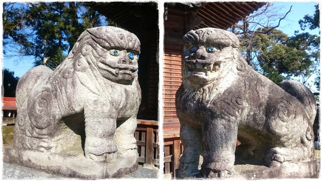 人丸神社・狛犬